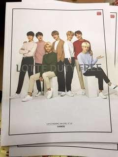 BTS防彈 5月Lotte Duty Free Magazine