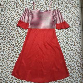SABRINA DRESS STRIPE