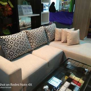 sofa L bisa Cash and credit
