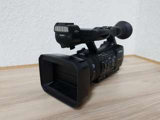 Sony professional video cam