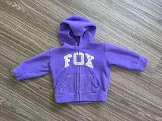 🚚 Baby FOX fleece jacket