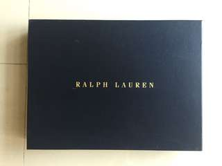 Authentic RALPH LAUREN Box