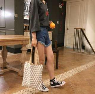 Patterned Tote Bags