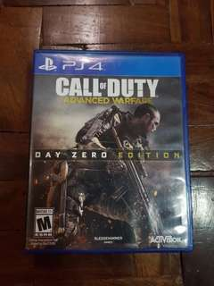 PS4 Call of Duty Advanced Warfare - Day Zero Edition