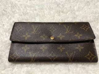 Preloved LV Long Wallet