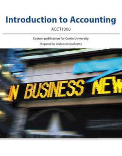 ACCT1000 Textbook