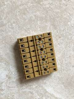 Weidmuller mk 3/8 multipole terminal block