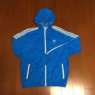 🚚 (Size L) Adidas Orginal 防風連帽外套