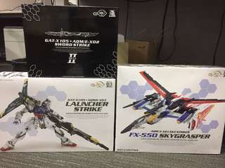 Dragon Momoko Perfect Strike Set (Launcher Strike/Sword Pack/Skygrasper+Aile Pack)