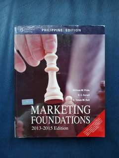 Marketing Foundations 2013-2015 Edition