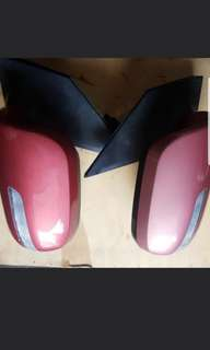 Passo side mirror auto flip set