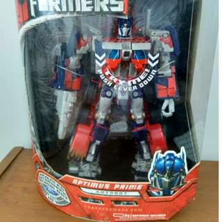 Transformers Movie Optimus Prime Leader Class