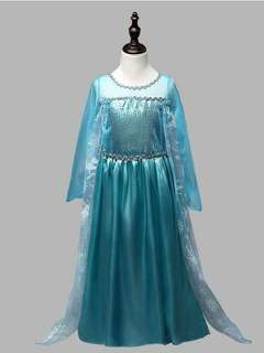 Frozen dress Elsa(delivery available for Singapore)