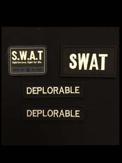 SWAT ILBV Cap bag Velcro patch