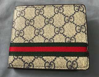 Gucci (authentic quality only) Men's wallet bifold