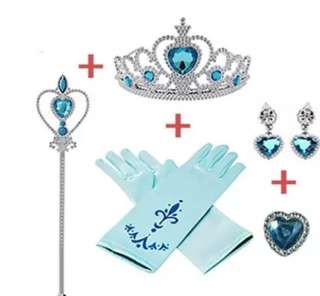Frozen Crown set (delivery available to Singapore)
