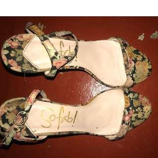 So Fab heels size 8