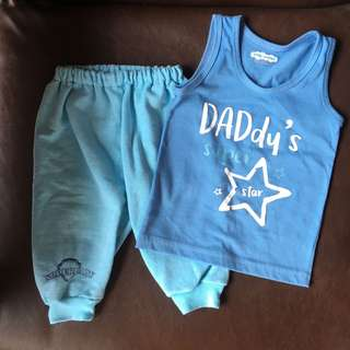 Baby pants and top set (6-9mos)