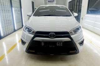 Toyota Yaris TRD S Limited AT 2016 White Low KM Auto 2000 Record Pemkaian Pribadi Istimewa