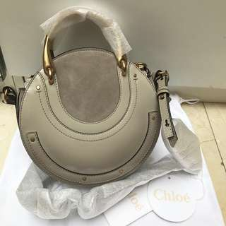 CHLOE Pixie small bag in grey (Original Price $11,000+)🌟
