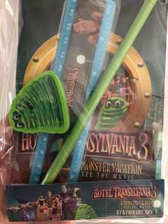 Hotel Transylvania 3 stationery set