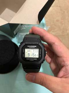 Madness G Shock DW5000MD鐵盒