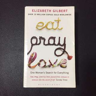 Eat Pray Love Novel