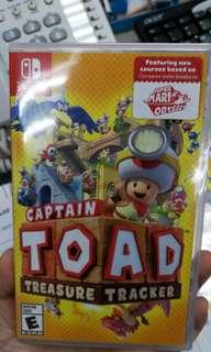 (Brand New) Nintendo Switch Captain Toad Treasure Tracker