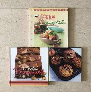 Cakes, Brownies & Muffins - Recipe Books
