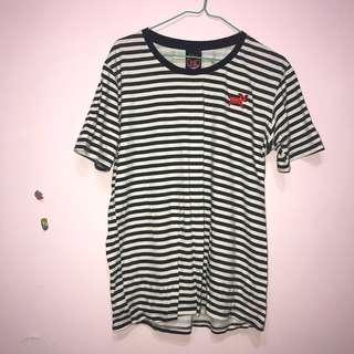 🚚 Zoom in/小鹿條紋短袖T恤#女裝半價拉