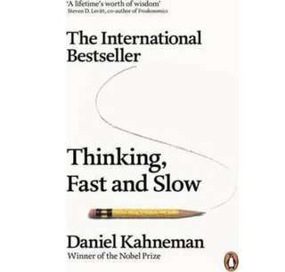 ✨ Thinking, Fast and Slow - Daniel Kahneman