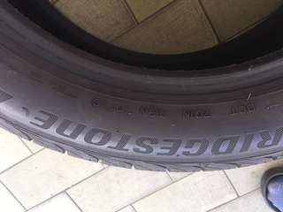 Bridgestone turanza tyre for sale