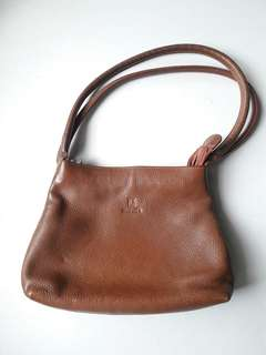 Manel Brown Leather Bag