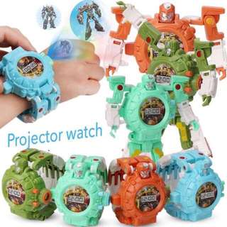 JAM ROBOT TRANSFORMABLE WITH PROJECTOR