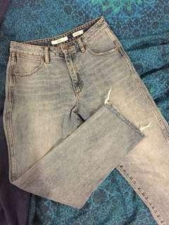 "Wrangler "" Drew "" mom jeans"