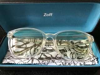 ZOFF 日本潮流 透明 太陽眼鏡