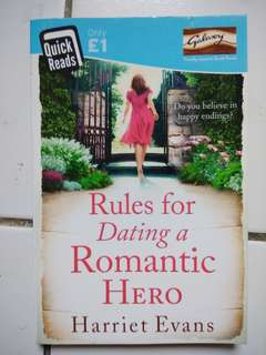 Buku Novel Rules for Dating a Romantic Hero