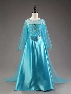 Frozen dress(delivery available to Singapore)