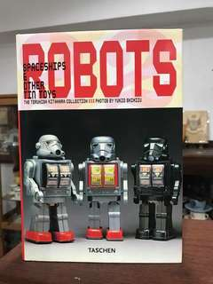 Thick ROBOTS Collectible Book