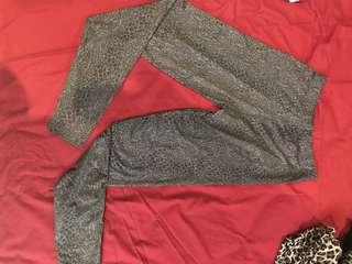 Legging leopard grey