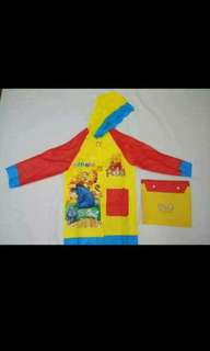 Character Raincoat for 5-8 years old
