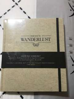 NEW WANDERLUST TRAVEL BOOK INSPO AND JOURNAL PERFECT AS GIFT OR FOR TRAVELLERS