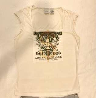 Authentic Armani Exchange White Top
