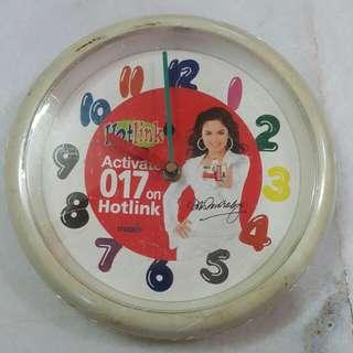 Vintage Siti Nurhaliza Wall Clock
