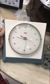 Old German Porcelain Clock