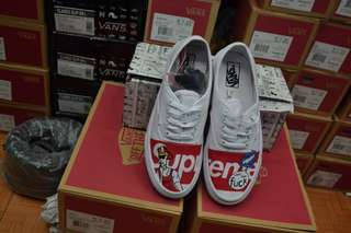 Vans Authentic x Supreme True White Premium BNIB