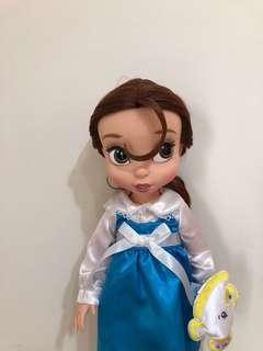 🚚 日本迪士尼商店帶回正版貝兒沙龍娃娃美女與野獸