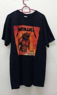 Metallica Jump In The Fire band shirt