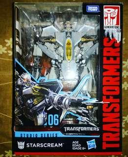 Transformers Studio Series 06- STARSCREAM