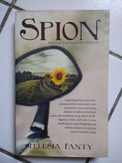 Buku Novel Spion